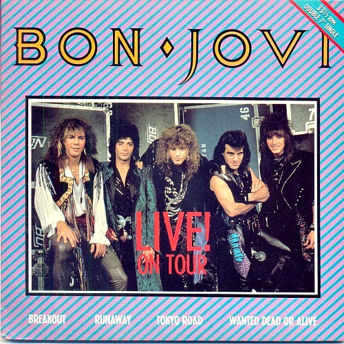 1987 Live On Tour Ep Soundarts