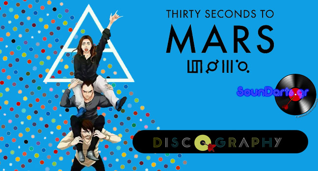 30 seconds to mars albums and songs list