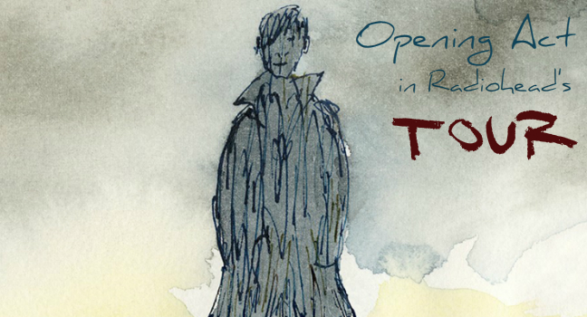 Opening Act   Ο James Blake στην Ευρωπαϊκή περιοδεία των Radiohead