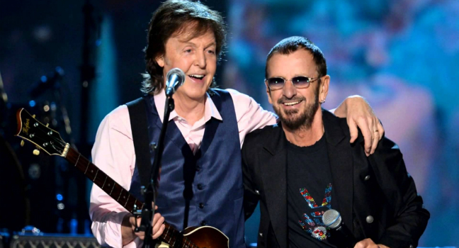 Paul McCartney και Ringo Starr ξανά μαζί