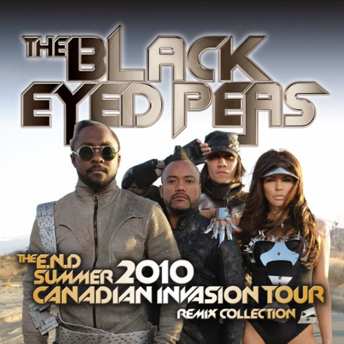 2010 – The E.N.D. Summer 2010 Canadian Invasion Tour: Remix Collection
