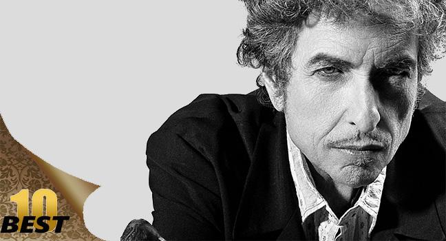 Best 10 | 10 πράγματα που ίσως δεν γνώριζες για τον Bob Dylan!