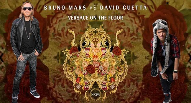 Νέο Remix | Bruno Mars Vs. David Guetta – Versace On The Floor