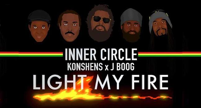 Νέα Διασκευή | Inner Circle Feat. Konshens & J Boog – Light My Fire