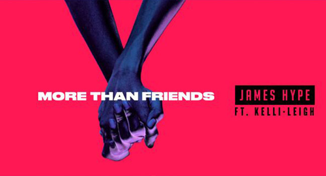Νέα Διασκευή   James Hype Feat. Kelli-Leigh – More Than Friends