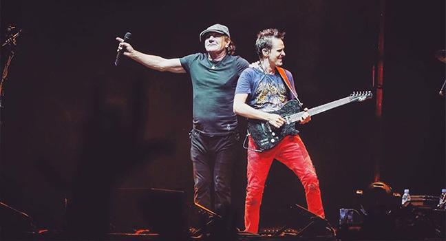 News | Η επανεμφάνιση του Brian Johnson των AC/DC στο πλευρό των Muse!