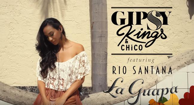 Νέο Τραγούδι & Video Clip | Gipsy Kings & Chico Feat. Rio Santana – La Guapa