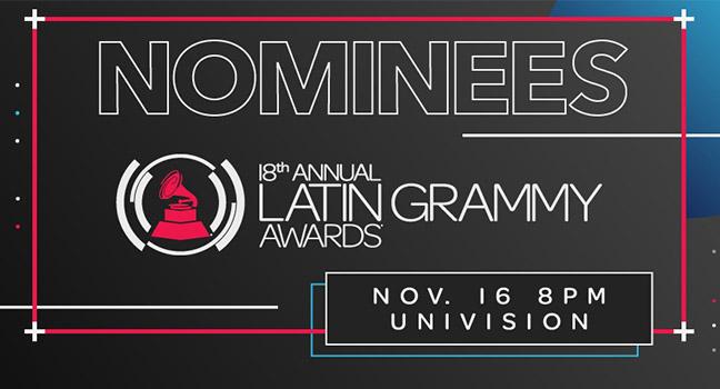 Latin Grammy Awards 2017   Δείτε τη λίστα των υποψηφιοτήτων!