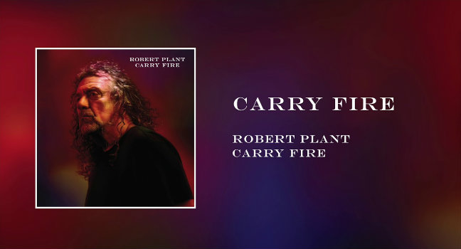 Νέο Album | Robert Plant – Carry Fire