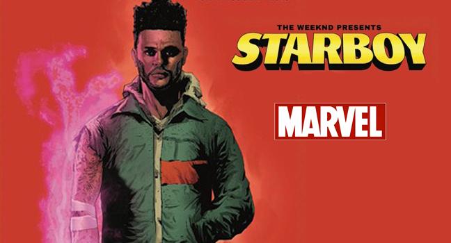News   O The Weeknd συνεργάζεται με τη Marvel για το πρώτο του Comic Book!