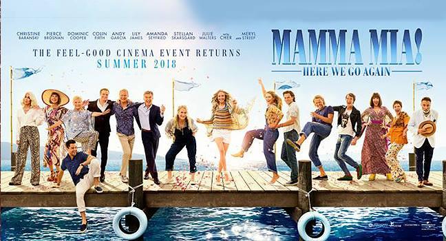 Νέο Τραγούδι | Cast Of Mamma Mia 2 – Dancing Queen (Mamma Mia! Here We Go Again O.S.T.)