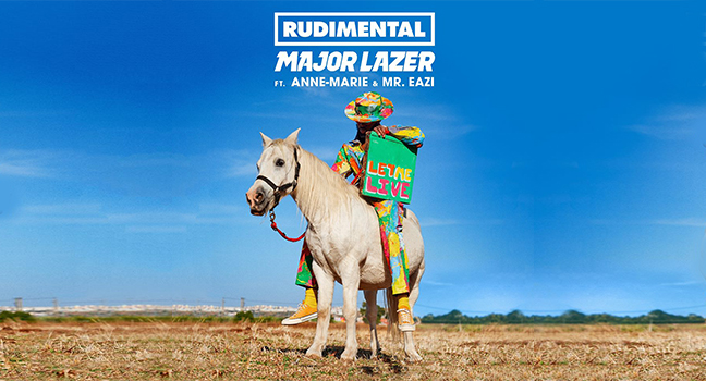 Νέα Συνεργασία | Rudimental Feat. Major Lazer, Anne-Marie & Mr Eazi – Let Me Live