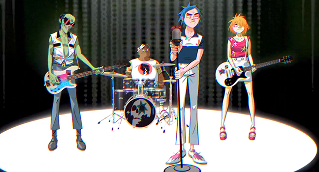 Νέο Video Clip | Gorillaz – Tranz