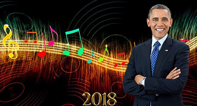 News | Δείτε τη λίστα με τα αγαπημένα τραγούδια του Barack Obama για το 2018