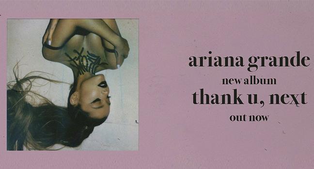 Νέο Album | Ariana Grande – Thank You, Next