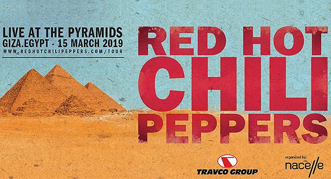 News   Δείτε ολόκληρη την θρυλική συναυλία των Red Hοt Chili Peppers στις πυραμίδες της Γκίζας